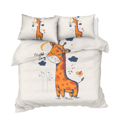 Image of Cute Giraffe Bedding Set - Beddingify