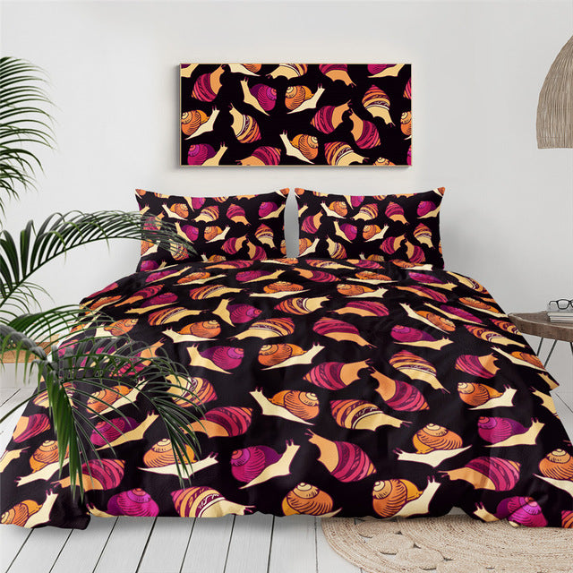 Snails Bedding Set - Beddingify