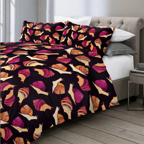 Image of Snails Bedding Set - Beddingify