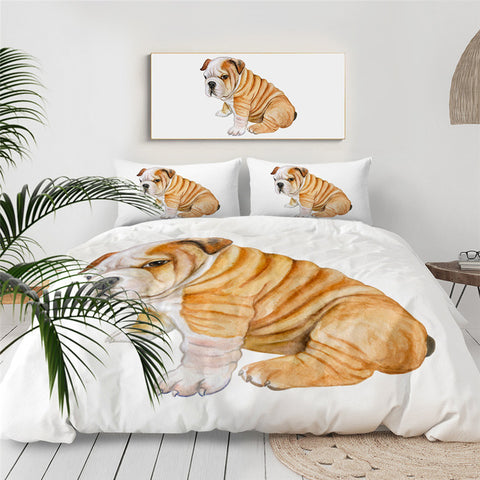 Image of Funny Pug Bedding Set - Beddingify