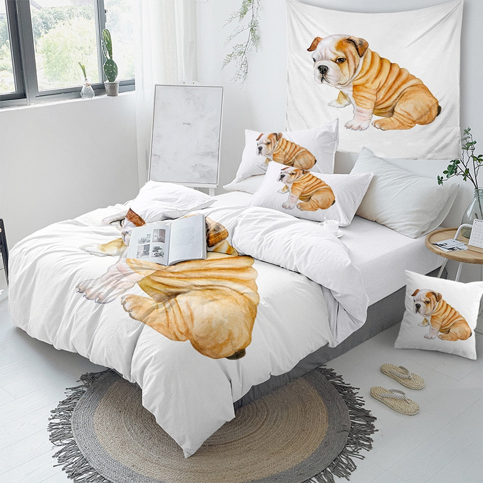 Funny Pug Bedding Set - Beddingify