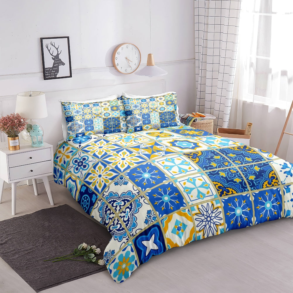 Retro Ethnic Style Bedding Set - Beddingify