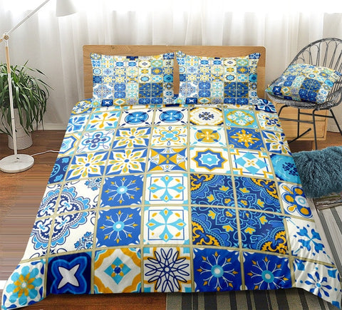 Image of Retro Ethnic Style Bedding Set - Beddingify