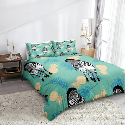 Image of Kid Zebra Bedding Set - Beddingify