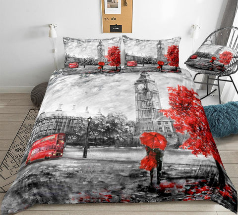 Image of Big Ben Couples Bedding Set - Beddingify