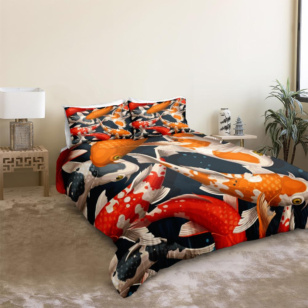Koi Carps Bedding Set - Beddingify