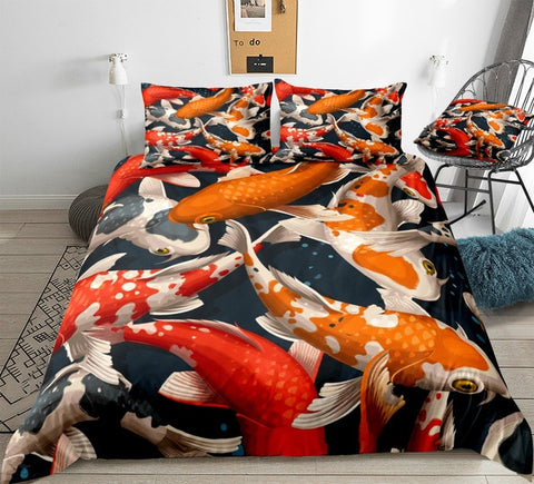 Image of Koi Carps Bedding Set - Beddingify