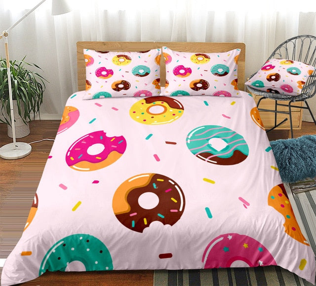 Tiny Donuts Bedding Set - Beddingify