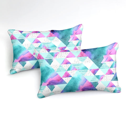 Geometric Triangles Bedding Set - Beddingify