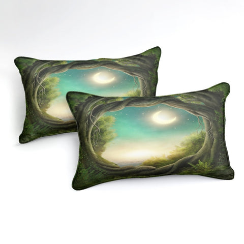 Image of Forest Moon Bedding Set - Beddingify