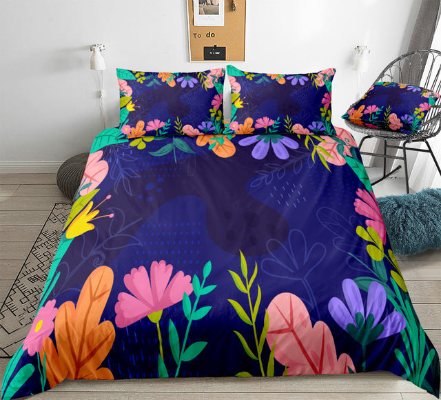 Cute Flower Bedding Set - Beddingify