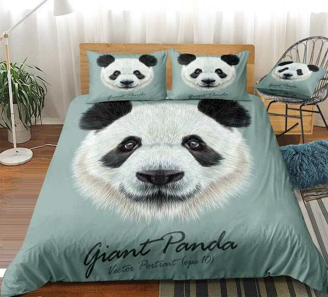 Giant Panda Bedding Set - Beddingify