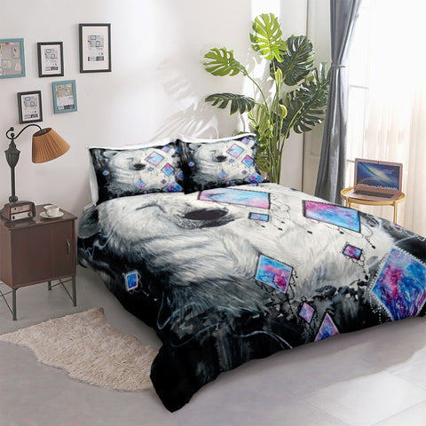 Image of Polar Bear Bedding Set - Beddingify