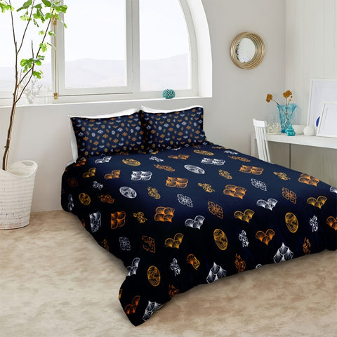Image of Black Scale Bedding Set - Beddingify