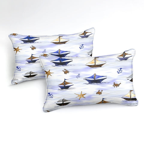 Image of Sailboat Bedding Set - Beddingify