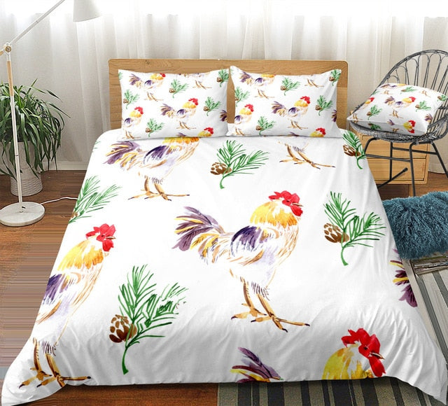 Rooster Bedding Set - Beddingify