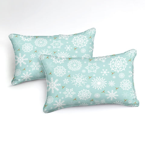 Image of Snowflakes Bedding Set - Beddingify