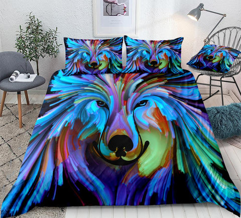 Image of Abstract Art Dog Bedding Set - Beddingify