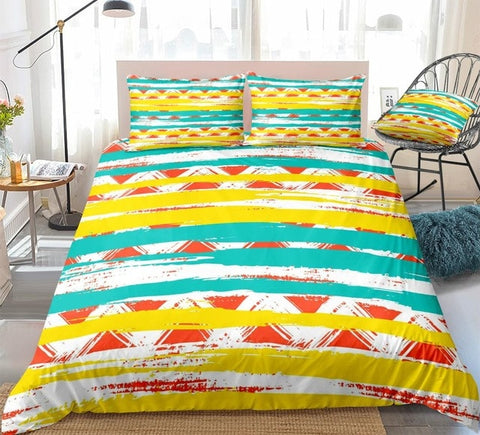 Colorful Geometric Bedding Set - Beddingify