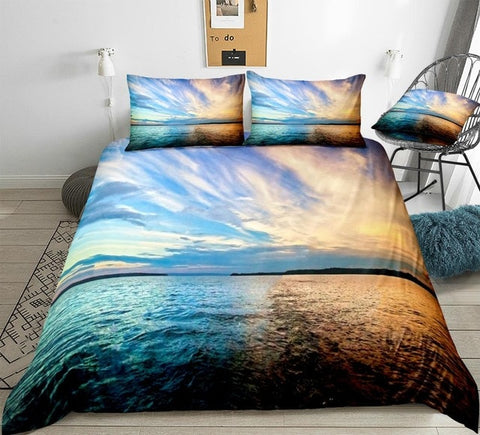 Image of Beach Themed Bedding Set - Beddingify