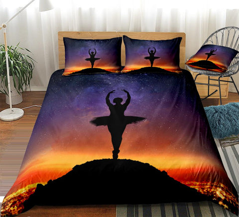 Image of Ballet Dance Bedding Set - Beddingify
