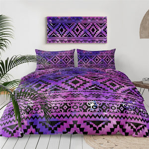 Aztec Geometric Bedding Set - Beddingify