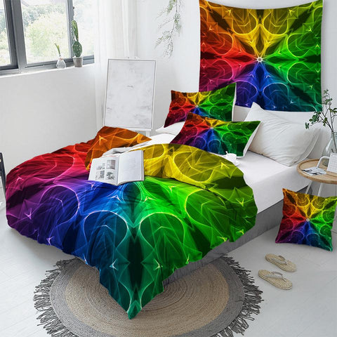 Image of Chakra Mandala Comforter Set - Beddingify