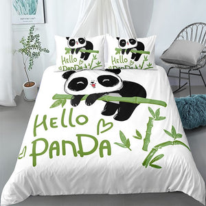 Bamboo Panda Bedding Set - Beddingify