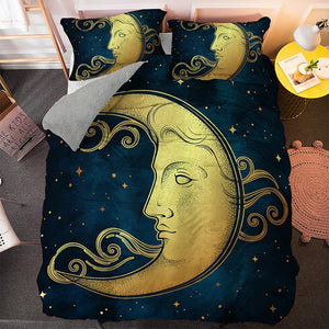 Hippie Moon Bedding Set - Beddingify