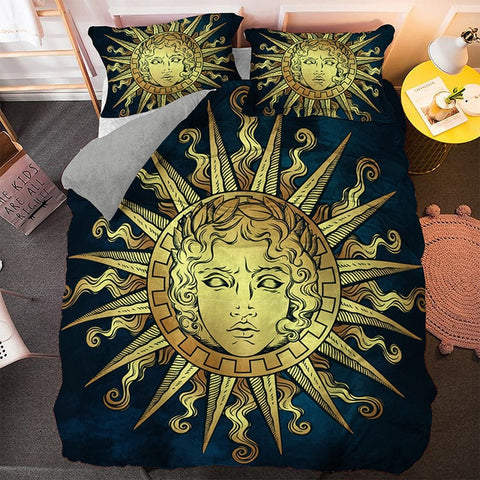 God Of The Sun Bedding Set - Beddingify