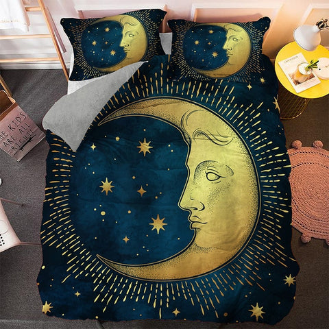 Bohemian Moon Bedding Set - Beddingify