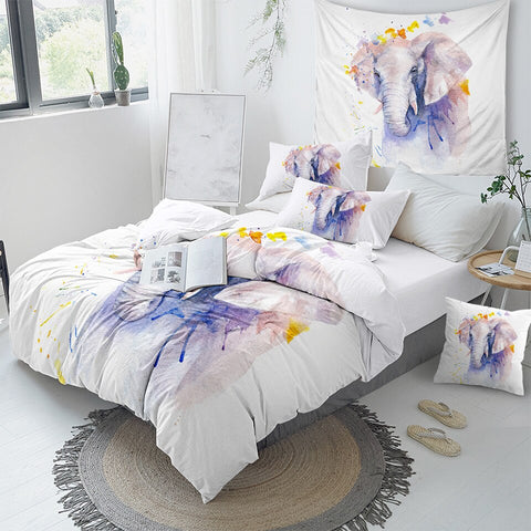 Elephant Bedding Set - Beddingify