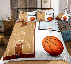 Basketball Bedding Set - Beddingify