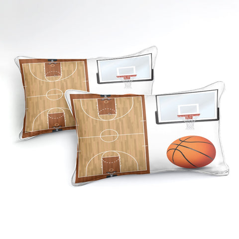 Image of Basketball Bedding Set - Beddingify