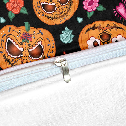 Halloween Jack O Lantern Bedding Set - Beddingify
