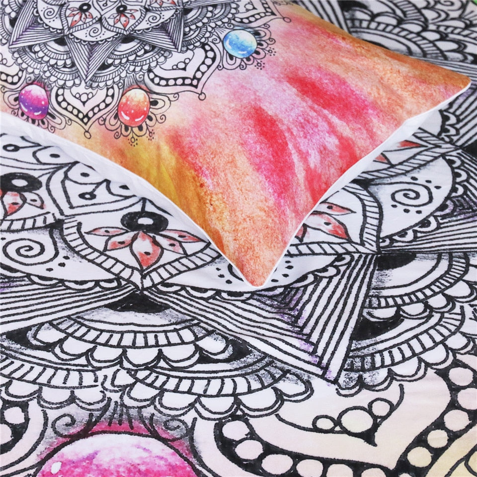 Crystal Gemstone Bohemian Bedding Set - Beddingify