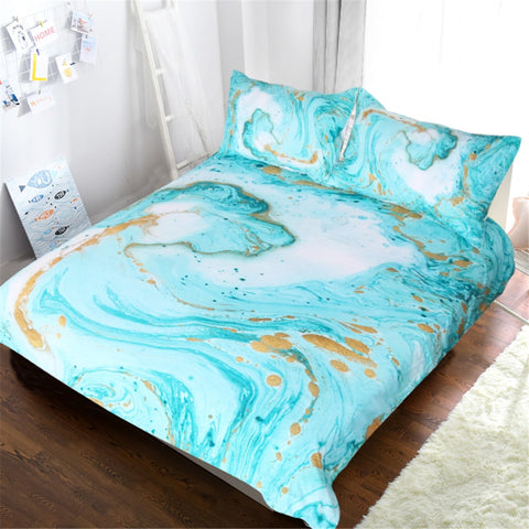 Girly Marble Bedding Set - Beddingify