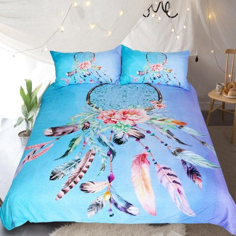 Six Colors Dreamcatcher Bedding Set - Beddingify
