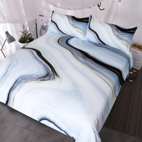 Nature Rock Marble Bedding Set