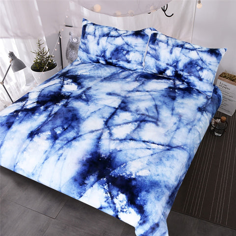 Abstract Marble Bedding Set - Beddingify