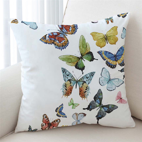 Image of Butterfly Swarm Cushion Cover - Beddingify