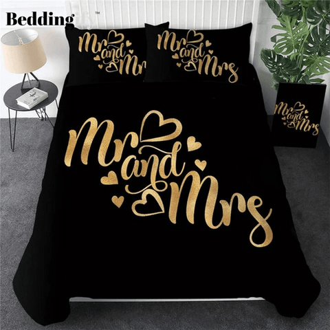 Image of Romantic Letters Bedding Sets - Beddingify