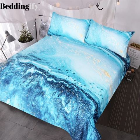 Image of Watercolor Bedding Set