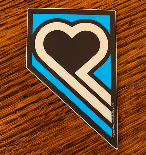 NV Love Sticker