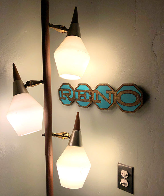 RENO Sign - Horizontal
