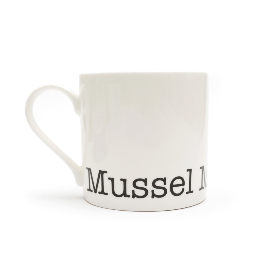 Muscle Man Mug, Man Mug, Big Mug for Man, Gone Crabbing Mussel Man Mug