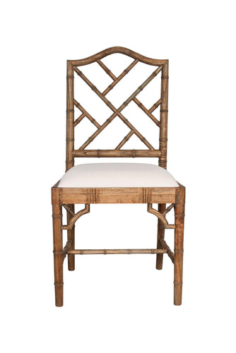 Chippendale Dining Chair – Weathered Oak