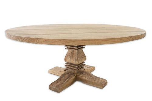 Newport Round Pedestal Dining Table 1.8m (8-10 seater)