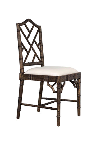 Chippendale Dining Chair – Dark Oak
