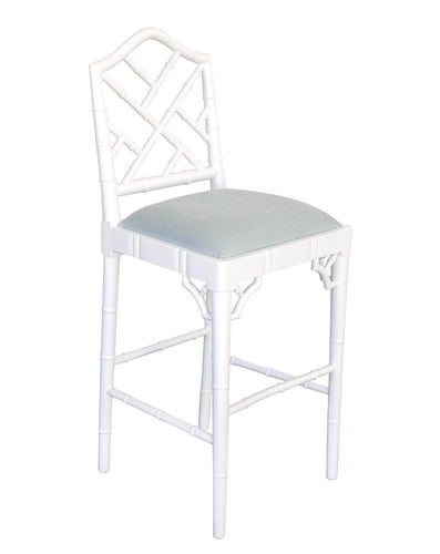 Chippendale Counter Stool – White